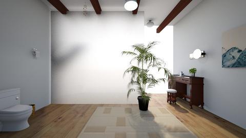 Simple Tropical Bathroom - Bathroom  - by noadesign