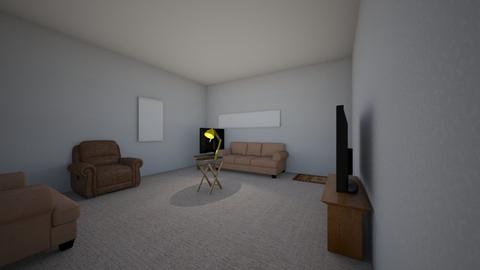 my real family room  - Living room  - by erin2cute4u
