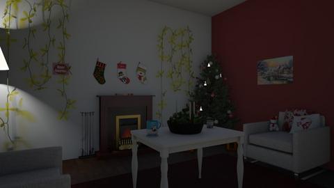 christmas - Modern - Living room  - by carli smith