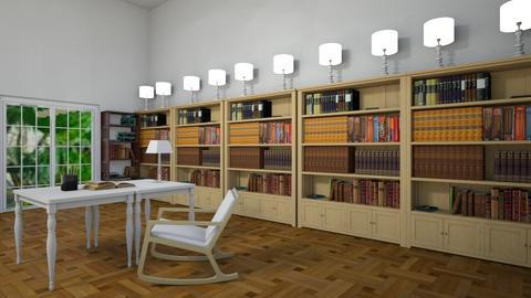 Villa Proboscis Library - by MPIB