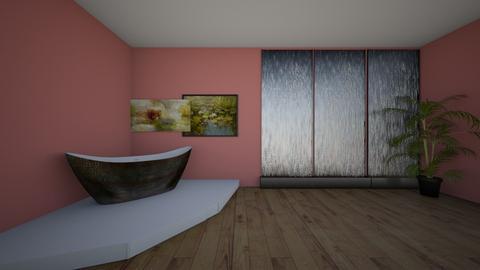Lily Pond Bathroom - by Rohne