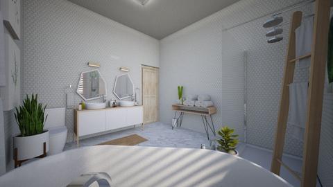 Calm Studio Bath View8 - Modern - Bathroom - by musicdesign22