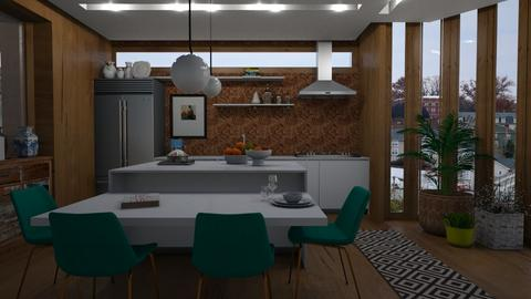 cozinha outono - Kitchen  - by lais baptista
