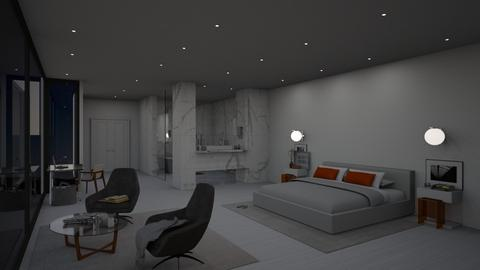 Modern Suite - Modern - Bedroom  - by Ryan_22_