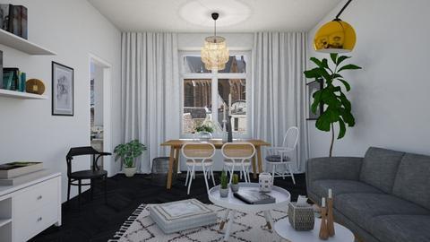 Thonet inspired living - Modern - Living room  - by martinabb