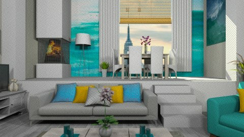 Ziggy - Modern - Living room  - by deleted_1566988695_Saharasaraharas