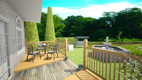 garden  - Classic - Garden  - by nioosh88