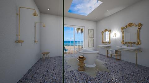greek bathroom design - Bathroom  - by erladisgudmunds