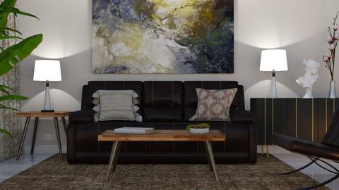 Nina - Minimal - Living room - by Claudia Correia