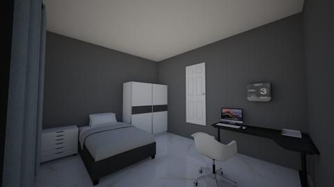 bedroom 1st design - Bedroom  - by yrrah ilagan