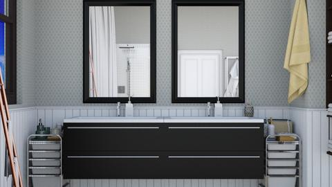 Mirror Mirror remix1 - Bathroom  - by mikaelahs
