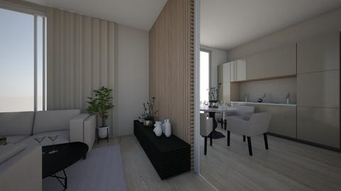 2 in 1 - Living room  - by sandyelenadia