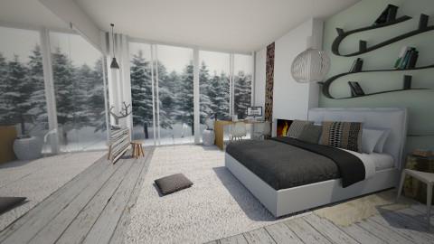 Serenity- Wildland - Bedroom  - by Amy Neil_415