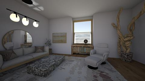artist loft - Living room  - by yvonster
