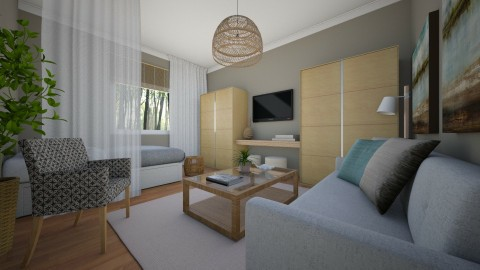 Rona also RMD - Modern - Bedroom  - by channing4
