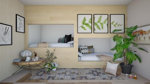 Bed bunks_2 - Classic - Bedroom  - by Meghan_Pheebs