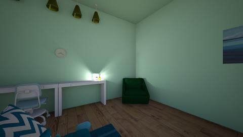 Alexias Bedroom - Retro - Bedroom  - by AlexiaMarkelova