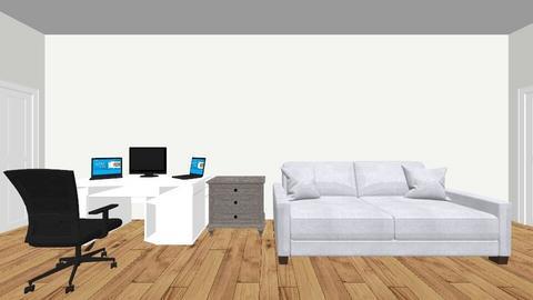 Camera de Lucrat - Living room  - by Darius14