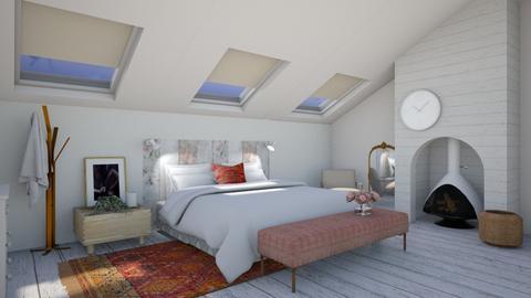 Top floor - Modern - Bedroom  - by augustmoon