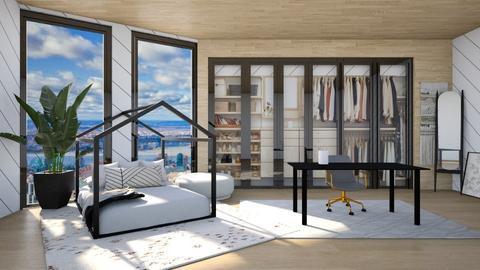Lotus - Minimal - Bedroom  - by LuluDesignStyle