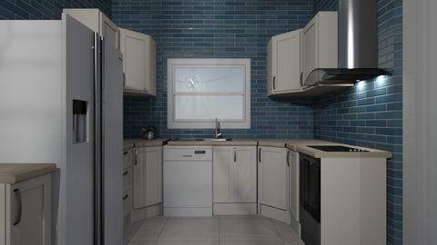 Ben and Beccas loun kit - Kitchen  - by Linda50