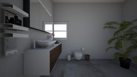 Project 4 Part 1 - Bathroom  - by Mpumie