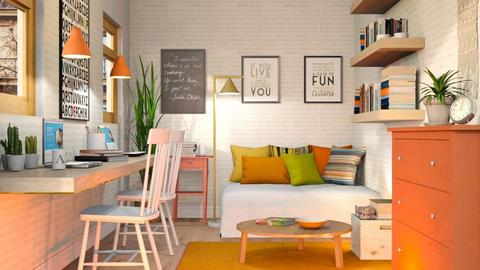Home Office Apartment - Eclectic - Office  - by Sally Simpson