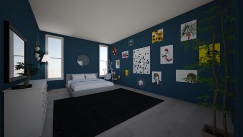 interior design final - Bedroom  - by JaycieR2021