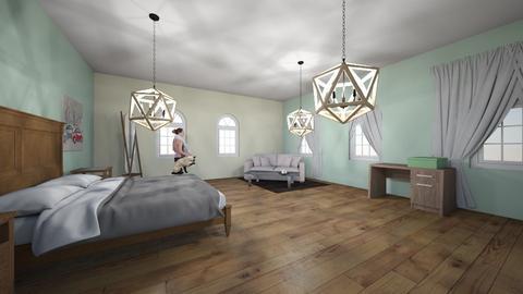 Roomstyler - Modern - Bedroom  - by hortomek