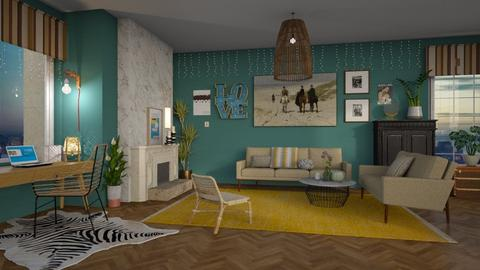 living room - Classic - Bedroom - by tolo13lolo