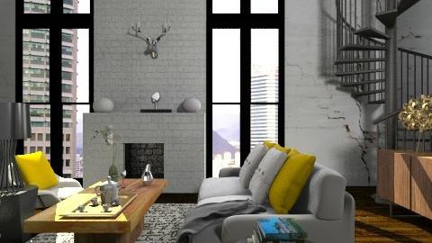 Boho Retro - Modern - Living room  - by Yaiqyn