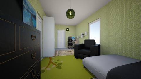my room - Modern - Bedroom  - by Alo Lauringson