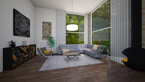 family room - by ak designs