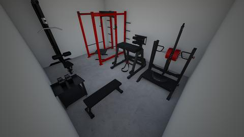 Powerlifting paradise - by rogue_ad8bbbe8c9ba99a0dd9a086e27e21