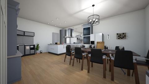 kitchen modern - Modern - Kitchen  - by ricardo smith9