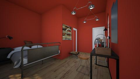 Leo s room on Argo 2 - Bedroom  - by pipermclean