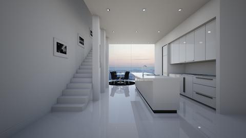 NY Kitchen - Minimal - Kitchen  - by deleted_1579725055_athinast