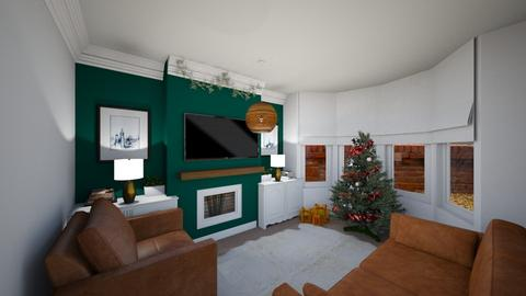 Christmas Lounge - Living room  - by mandalea545