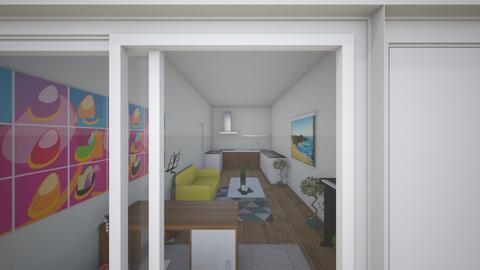 Greenwich 2 - Modern - Living room  - by sammthejones