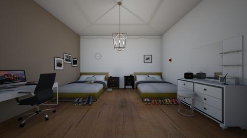 Twin room - Bedroom  - by KathyScott