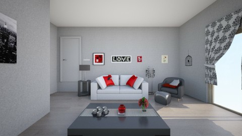 Apartment 1 - Minimal - Living room  - by callyminster