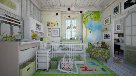 eclectic baby_room  - Eclectic - Kids room  - by Ida Dzanovic
