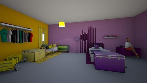 Kids room - Bedroom  - by TyKhiaD
