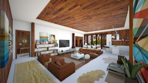 mad men home - Living room - by Dibiduu