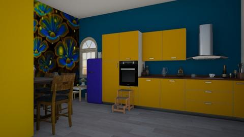 Accent Kitchen - Modern - Kitchen  - by Itsavannah