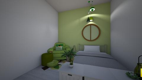 Sage Green - Classic - Bedroom  - by len1924