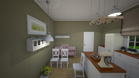 Country kitchen - Classic - Kitchen  - by drazenni