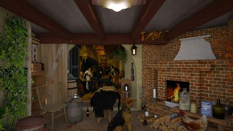 tavern saturday night  - by Teri Dawn