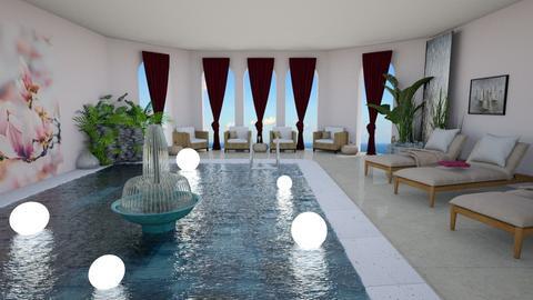 Hotel Pool Template - Classic - Office  - by Irishrose58