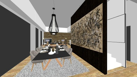 autumn rhythm - Modern - Dining room - by DMLights-user-990883